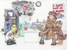 Muppet Labs by CrackpotComics