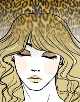 cover: leopard netting by BlackNina