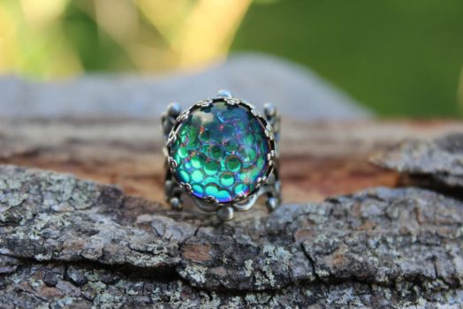 Dragon Eye Ring by artistiquejewelry