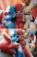 more plushies x3 by lugavi