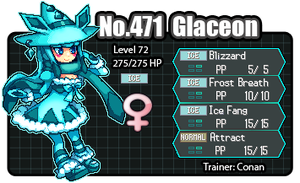 Witch Glaceon ID by BluC by SergeantGrif