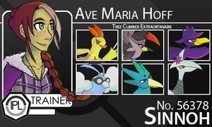 IPL Trainer Card: Ave Maria Hoff by LinearMango