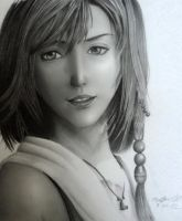Yuna Final Fantasy X by 8Bpencil
