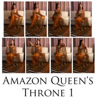 Amazon Queen's throne 1 by syccas-stock