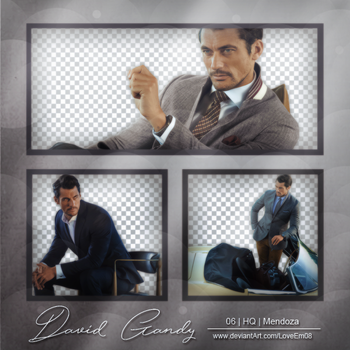 DAVID GANDY PNG Pack #1 by LoveEm08