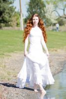 The redheaded princess by Sinned-angel-stock