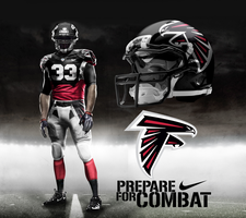 Atlanta Falcons Home Uni by DrunkenMoonkey