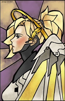 Mosaic: Mercy by jyuupi