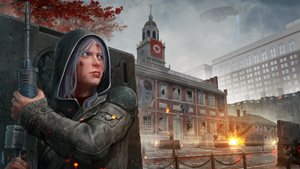 Independence Hall Siege by AndWhatArt