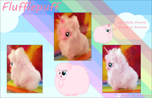 My little Pony FIM Fluffle puff Custom by Asukatze