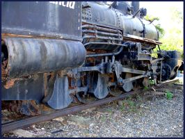 Levittown Steam Loco II by Sings-With-Spirits