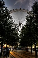 London in October by sylvianorth