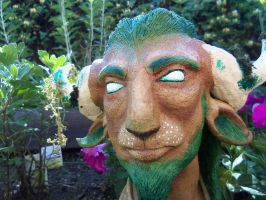 Cernunnos Bust - Completed 4 by vampire-L