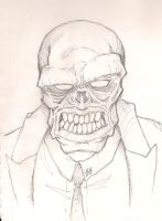 The Red Skull by joebananaz