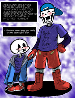 Undertale: The Mighty Bro-pyrus! by Neloku
