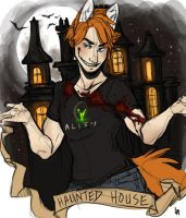 What Happens In The Haunted House [Commission] by Marxis