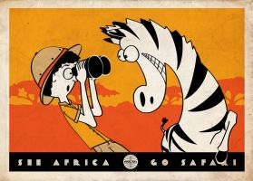 See Africa. Go Safari. by Flyinfrogg