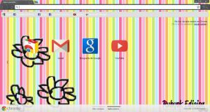 Tema de Google Chrome flor by rubyok