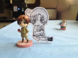 Romano PaperChild: Who is this jerk? by Kawaii-Mochii