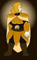 Undergems - Citrine (Asgore) by Flareblade2000