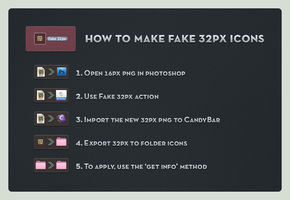HowTo Fake 32px by pedroL