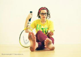 Barefoot tennis by bocukom