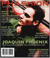 Phashion Magazine Cover Design by ladyriven