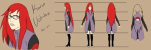 Adult Karin Model Sheet by pistol-paintbrush493