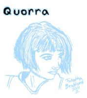Quorra Sketch by somechick73