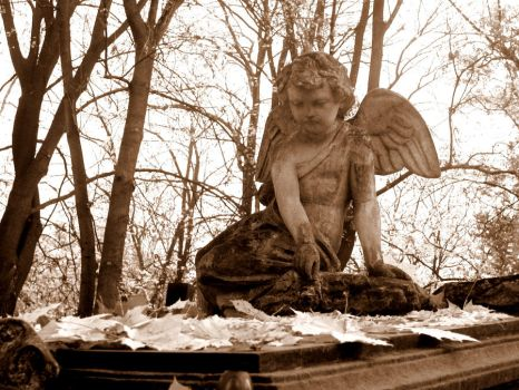 Memorial monuments - Little Angels V by Silvannia