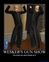 Weskers Guns by SlaveRain