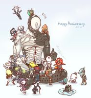Warframe 2years Anniversaries by DarikaArt