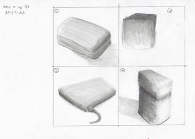sketch practice - squares/boxes by irenerei