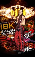WWE superstar Shawn Michaels by DTM2009