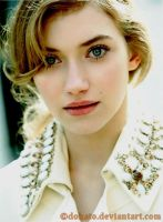 Imogen Poots by Dohato