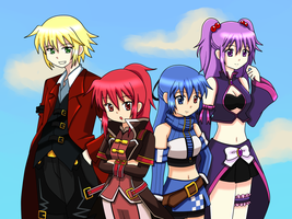 My Grand Chase PH Fam by cute-kakurine