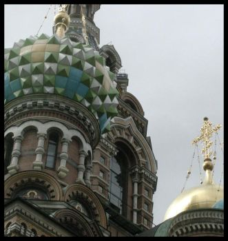 Jeweled Domes by SpiderSong