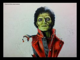MJ - Thriller WIP I by mario-freire