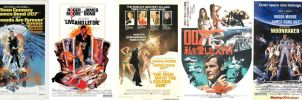 1970's James Bond Movies by ESPIOARTWORK-102