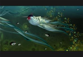 in the deep water by VinA222