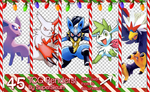 TCG Christmas Render Pack by SuperSleuth10