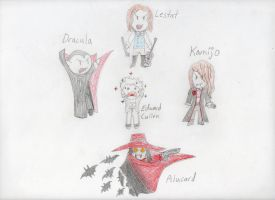 Which ones are REAL Vampires? by InuLuverHana89