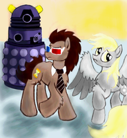 Doctor and Derpy by TanyaSitnikova