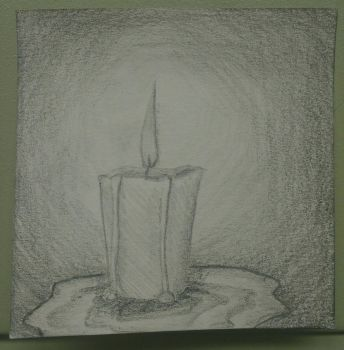Little Candle by lazytoontown