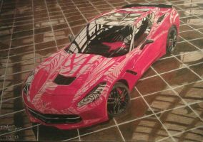 Corvette c7 stingray by solarstorm9