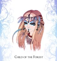 Child of the Forest - Digitally Colored by Exyle-Studios