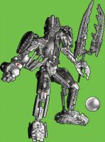 Black Bionicle 2-Lego Magazine by ActionMissiles