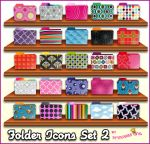 Pattern Folder Icons  Set 2 by princessang2644