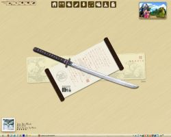 Samurai Desktop by bodom