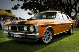 Ford 351 GT orange by RaynePhotography